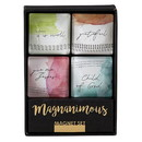 Christian Brands G2438 Magnanimous Gift Sets - Square Magnets - Inspirational - It Is Well