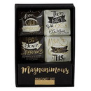 Christian Brands G2441 Graduation Good Vibes - Magnet Gift Set - Inspirational - Promise to be