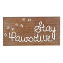 Christian Brands G2475 Wall Décor - Wooden Plaque - Pawsitive