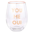 Christian Brands G2542 Wine Glass - You Me Oui