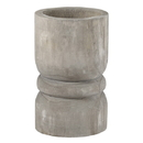 Christian Brands G2608 Large Succulent Pillar - Grey Paulownia Wood