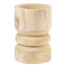 Christian Brands G2609 Medium Succulent Pillar - Natural Paulownia Wood