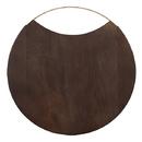 "Christian Brands G2721 Wood + Brass Board - 16"" Dia."