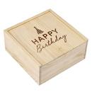 Christian Brands G2726 Medium Sweets Wood Box - Happy Birthday
