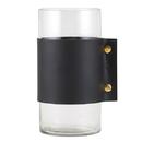 Christian Brands G2739 Hurricane Vase - Black Cuff