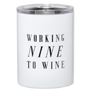 Christian Brands G2832 Travel Tumbler - Working Nine to Wine