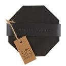 Christian Brands G2837 Leather Coaster Set