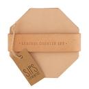 Christian Brands G2838 Leather Coaster Set