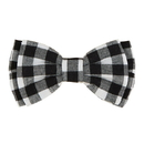 Christian Brands G2841 Pet Bow Ties - Black Buffalo Check