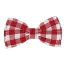 Christian Brands G2842 Pet Bow Ties - Red Buffalo Check