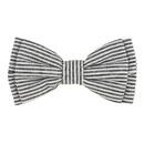 Christian Brands G2845 Pet Bow Ties - Grey Stripe