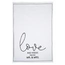 Christian Brands G2870 Tea Towel - Love and Kisses