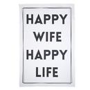 Christian Brands G2873 Tea Towel - Happy Wife
