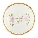 Christian Brands G2874 Jewelry Dish - I Said Yes