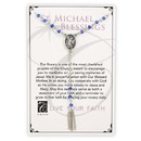 Creed G2961 Creed® Rosary Necklace - Saint Michael