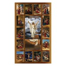 Christian Brands G3009 Stations of the Cross Banner - 3X5'