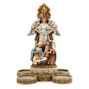 Christian Brands G4023 Nativity Advent Candleholder