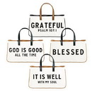 Faithworks G4127 Pack Smart - Large Canvas Totes - 8pc