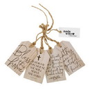 Christian Brands G4927 Wood Tag Set - Inspirational - Bless This Home