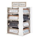 Christian Brands G4979 Filled Display - Rustic Farmhouse Tabletop Plaques - Inspirational - 64pcs