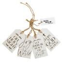 Christian Brands G5068 Wood Tag Set - Christmas - Holy Night