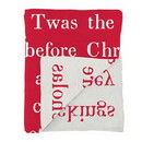 Christian Brands G5856 Face to Face Throw - Twas The Night Before Christmas