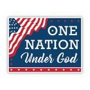 Christian Brands G5880 Yard Sign - One Nation Under God