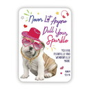 Christian Brands G6402 Verse Card - Never Dull Your Sparkle