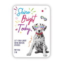 Christian Brands G6404 Verse Card - Shine Bright Today