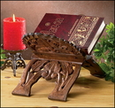 Robert Smith GC413 Hand Carved Wood Bible Stand