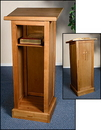 Robert Smith GS017 Full Lectern With Shelf