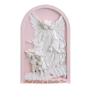 Avalon Gallery HS130 Guardian Angel Plaque Pink