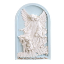 Avalon Gallery HS131 Guardian Angel Plaque Blue