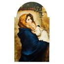 Gerffert J0587 Ferruzzi Madonnina Arched Plaque