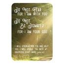 Christian Brands J1264 Verse Card - Do Not Fear