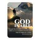 Christian Brands J1266 Verse Card - God is Able