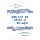 Christian Brands J1273 Verse Card - You Can Do Amazing Things