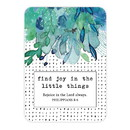 Christian Brands J1275 Verse Card - Find Joy in the Little Things
