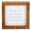 Heritage J1421 Tabletop Décor - Framed - Family is