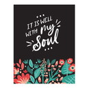 Christian Brands J1635 Square Magnet - It is Well with My Soul
