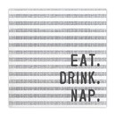 Christian Brands J2309 Face to Face Cocktail Napkin - Eat Drink Nap