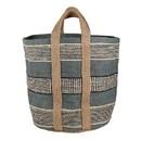Christian Brands J2462 Jute Basket Bag - Grey