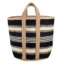 Christian Brands J2679 Basket Bag - Black with Ivory