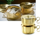 Sudbury JC714 600 Host Brass Stacking Ciborium With Lid