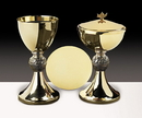 Sudbury JC718 Loaves And Fish Chalice With Paten