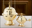Sudbury JS834 Censer And Boat Set
