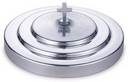 Sudbury KC163 Polished Aluminum Communion Tray Cover