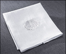Cambridge KS391 Baptismal Napkin With Shell