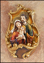 Sacred Traditions LC613 Holy Family Holy Water Font