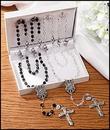 Creed LS436 Wedding Rosaries Gift Set